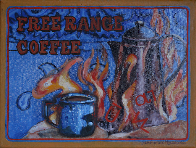 Cowboy Coffee by Debbie.lee Miszaniec